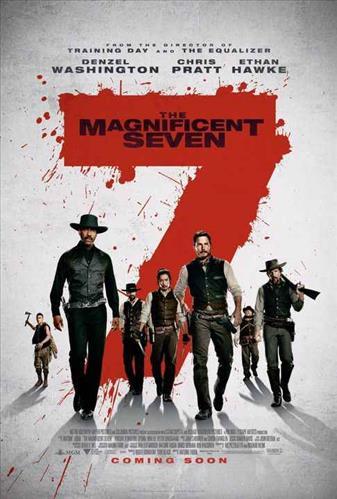 دانلود فیلم The Magnificent Seven 2016 هفت دلاور با دوبله فارسی